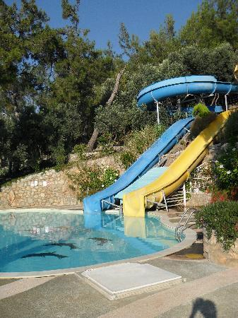 Blue Dreams Resort: pool with slides