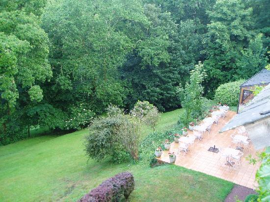 Le Manoir du Rodoir : View from rear bedroom window
