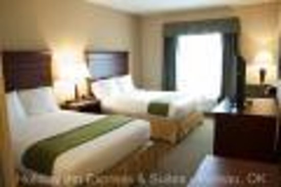 Holiday Inn Express Hotel & Suites Poteau: Double Queen