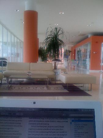 All Inclusive Hotel Laguna Albatros: Reception area with the worst staff I've ever met