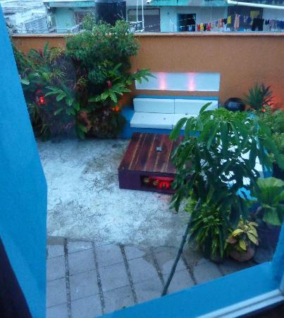 Villas Las Anclas: view from bedroom window