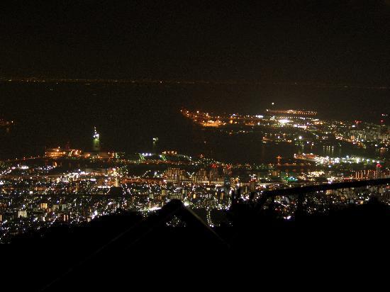 Mt. Rokko: 六甲山からの神戸の夜景