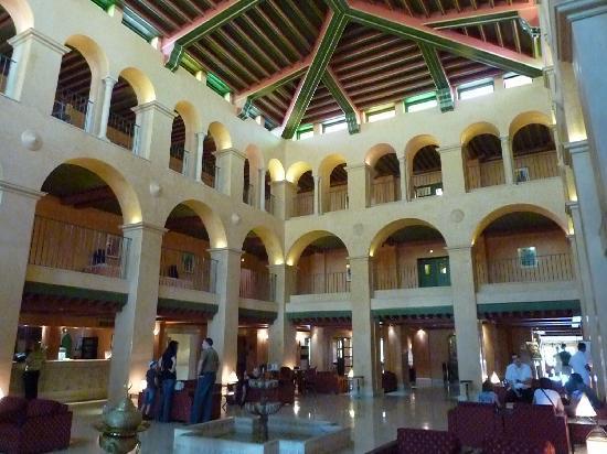 Hotel El Ksar: reception