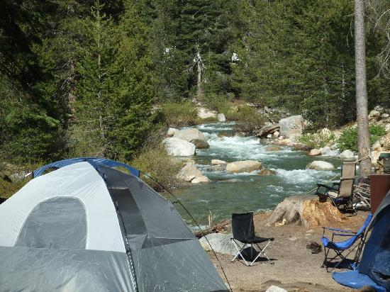 Lodgepole Campground : River