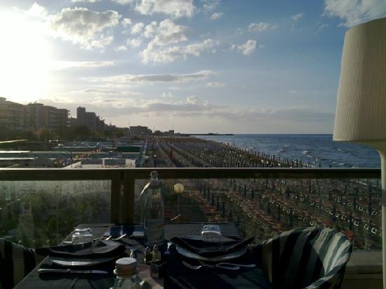 Imperial Sport Hotel: Tramonto dalla terrazza panoramica