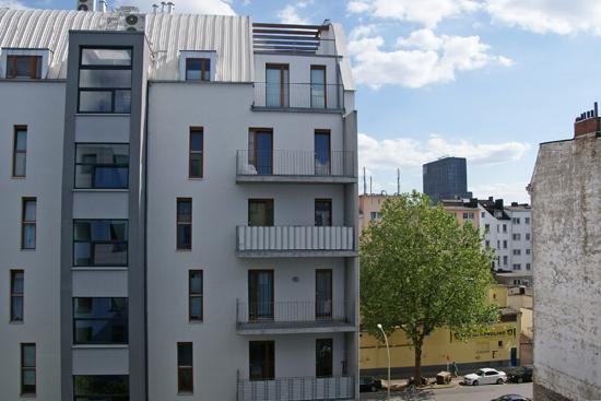 ibis budget Hamburg St. Pauli Messe: View to the back yard