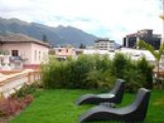 Boutique Hotel Mansion del Angel: Suites private yard