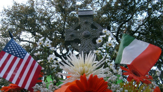 Savannah Cultural Heritage Tours and Events: Celtic Cross, Irish (Emmet) Park, Savannah