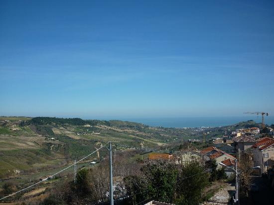 Monteprandone, Italie : vista mare