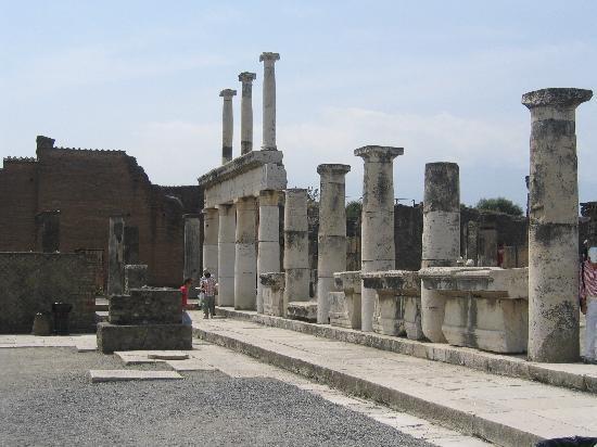 Villa Cimmino Hotel Restaurant : Scavi di Pompei