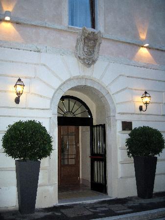 San Biagio Relais: Der Eingangsbreich
