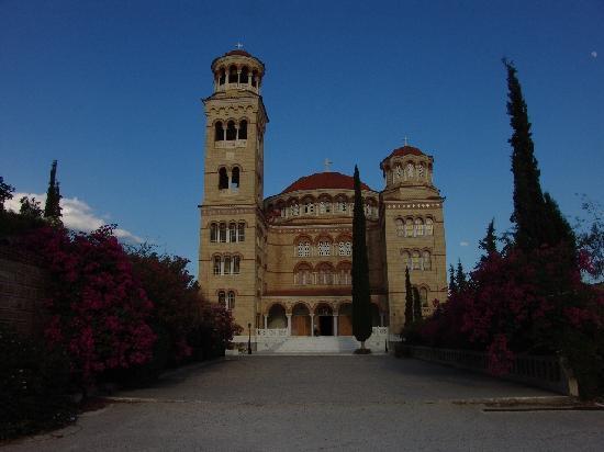 Egina, Grecia: Greek Orthodox Monastery, Agia Nectarios