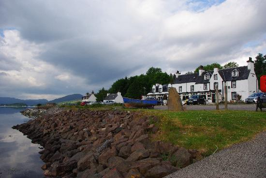 Lochcarron Hotel: So handy for the sea I pop in for an early morning dip