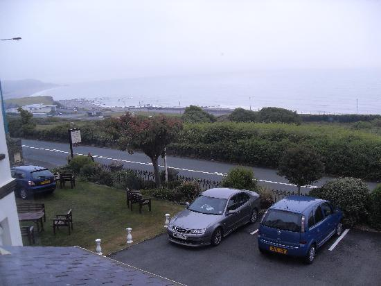 Plas Isa Hotel: View from the window