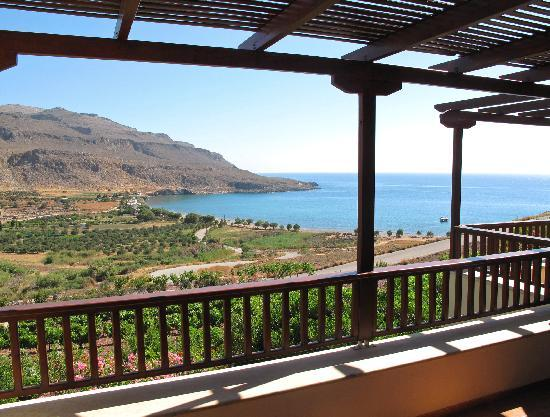 Kato Zakros Palace Apartments: Nice view from each terrace
