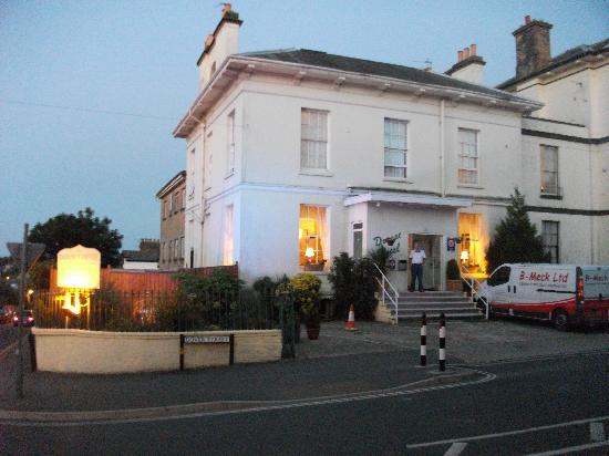 Dorset Hotel Outside View At Night