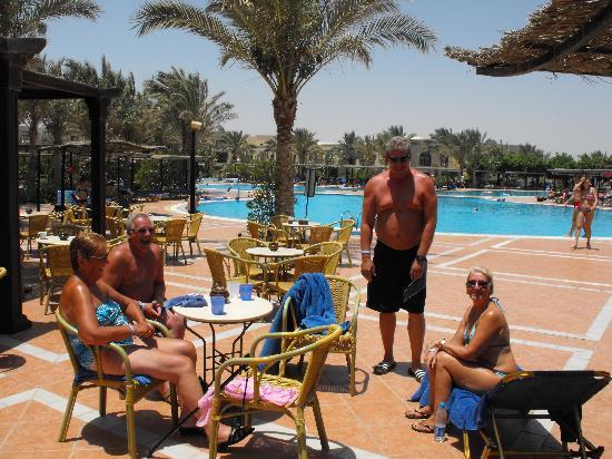 Jaz Lamaya Resort: pool view