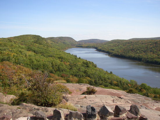 Upper Peninsula : lake of the clouds. porcupine mtns.