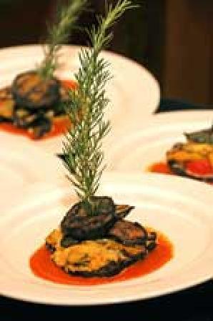 Apartment 2g: Eggplant Napoleon, a seasonal dish