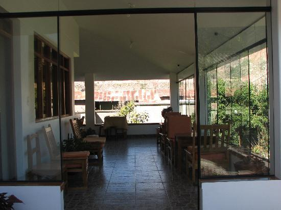 Posada Las Tres Marias: the sun room at Posada tres Marias