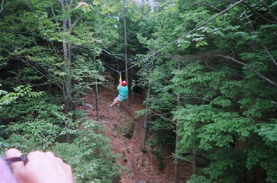 Berkshire East Canopy Tours: Yahooo!