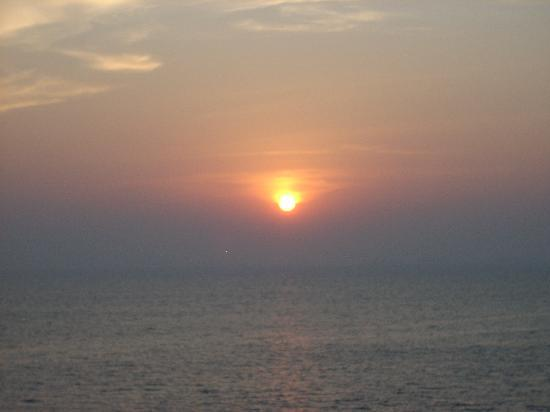 Goa, Indien: The sunset view