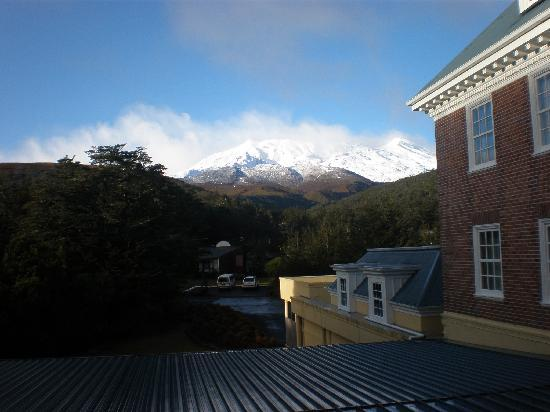 Whakapapa, Nuova Zelanda: View from guest room