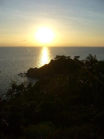 Skybar: Sonnenuntergang