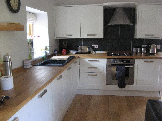 Niton Barns: A very well equipped kitchen!