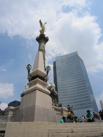 Mexico City, Meksika: El Ángel de la Independencia