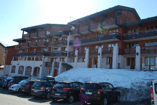 Pierre & Vacances Residence La Marelle et Le Rami : Apartmenthaus