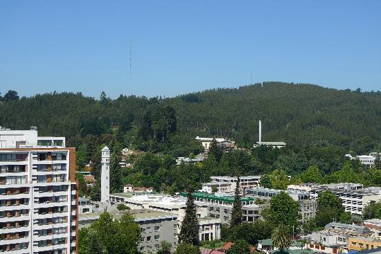 Der Cerro Caracol - Naherholung direkt in Concepción