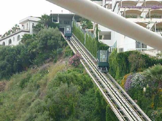 funicular lift - Picture of Le Terrazze, Letojanni - TripAdvisor