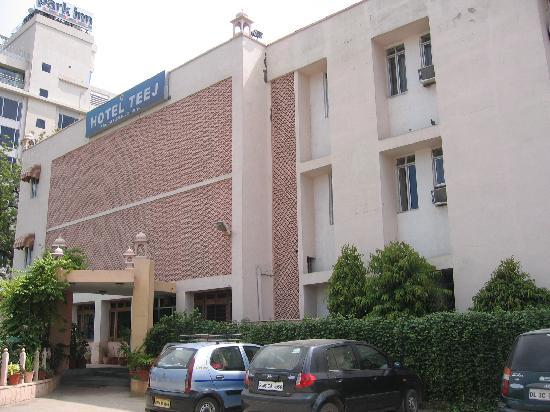 RTDC Hotel Teej : The outside view