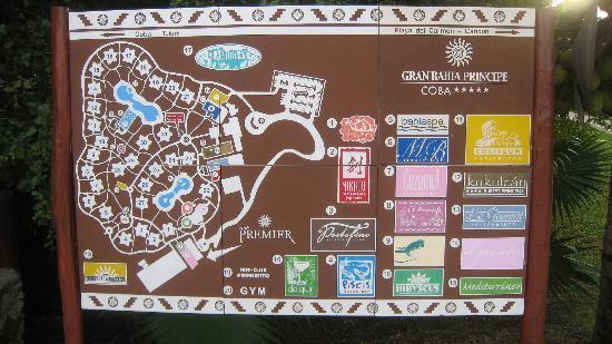 Grand Bahia Principe Coba: Plan du site
