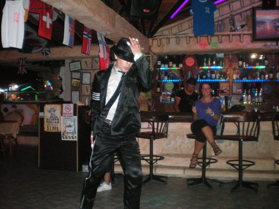 Istanbul Restaurant and Bar: Michael Jackson show