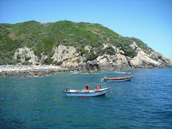 Hualpen : Fischer in Chome nahe Concepción