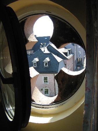 Hotel Eifelbräu: View from one of the bedroom windows