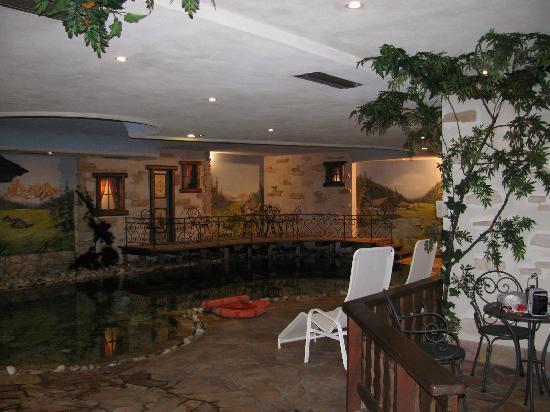 Soraga, Italie : La piscina 1