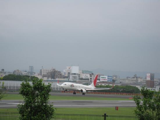 Toyonaka, Japan: 着陸シーンも間近です