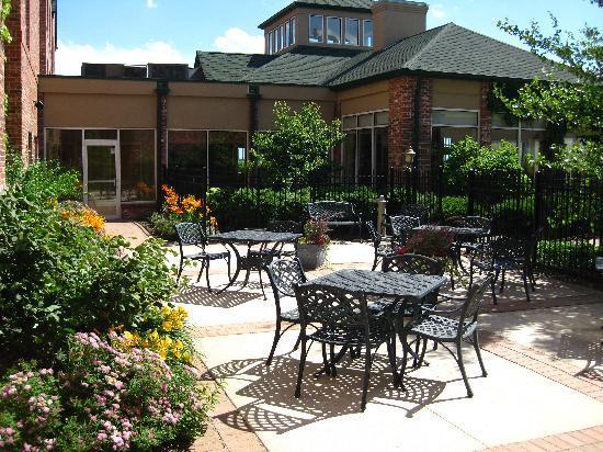 Captivating Hilton Garden Inn Chicago/Tinley Park: Lush Gardens Surround Our Outdoor  Patio Areas.