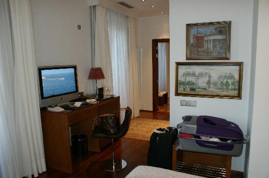 Hotel Mirador de Dalt Vila : La nostra camera