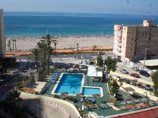 Vista do quarto picture of hotel poseidon playa for Hotel poseidon benidorm