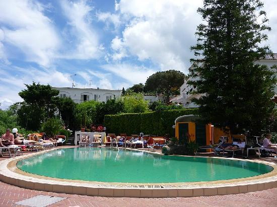 Hotel Terme La Pergola: la piscina termale