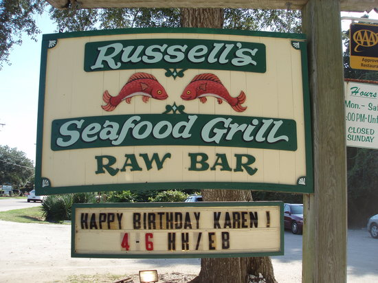 Russell's Seafood Grill: Welcome to Russell's