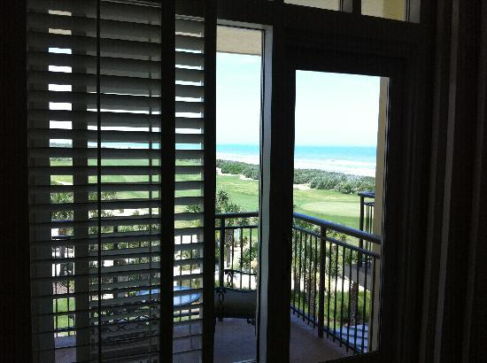 The Lodge at Hammock Beach: Beach view from Lodge Room #1