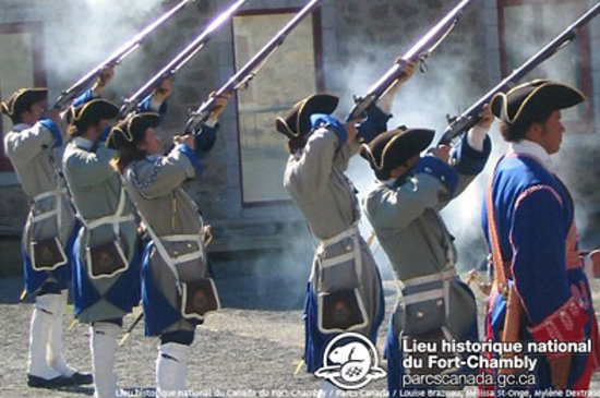 French Soldiers at Fort Chambly
