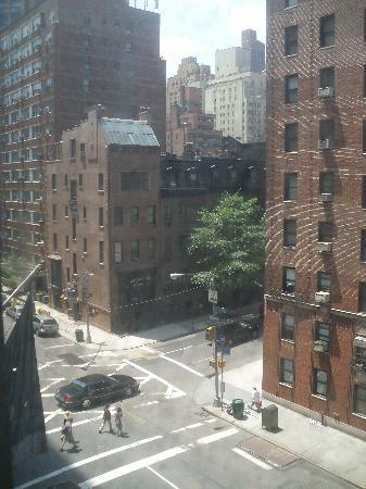 The view from room 522...beautiful NYC