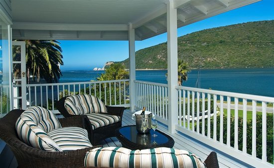 The Knysna Belle: Knysna Heads from house