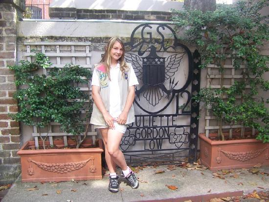 Juliette Gordon Low's Birthplace: Girl Scout at the Birthplace